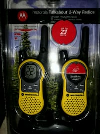 Brand new 2-way radio up to 23 miles