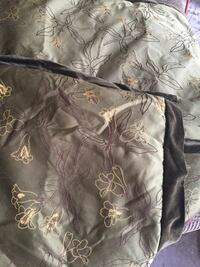 black and brown floral textile Houma, 70364