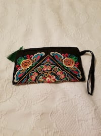 Colorful  zipper clutch new