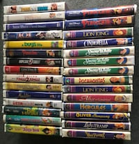 Disney VHS Tapes Vaughan