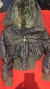 Baby Phat winter bomber jacket, size S, brand new