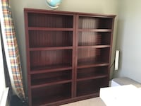 Dark cherry book shelves  5-layer shelf Woodbridge, 22193