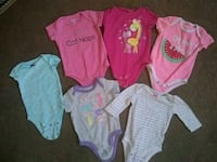 0-3 month onesies and outfits South Bend, 46613