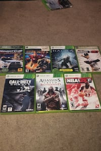 Xbox 360 games all for $12