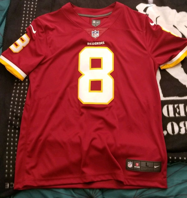 competitive price bad00 eb975 Kirk Cousins Mens Large Redskins Jersey