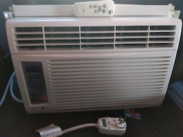 air conditioner&remote.6500 btus.Barely used