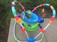 baby's multicolored jumperoo Bowie, 20720