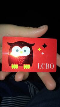 LCBO CARD $50 dollars  Bradford West Gwillimbury