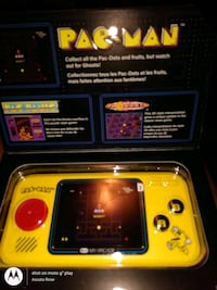 PacMan portable game system