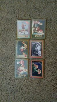 Coca cola classic cards. Good condition. Anderson