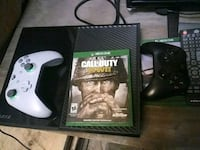 Xbox One console with controller and game cases Exeter, 02822