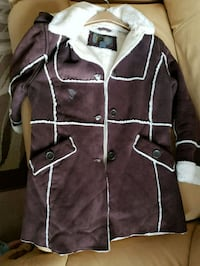 Girl's suede-like jacket sz 10/12 Yucaipa, 92399