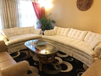White sofa set Mississauga, L4Z 3A4