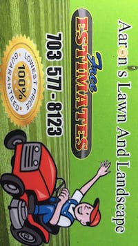 Lawn mowing Falls Church, 22044