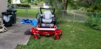 red and black zero turn mower Owings Mills, 21117