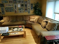 Chenille sectional couch Oceanside, 11572