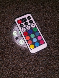 LED light with remote Hamilton