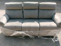 Brand new Jay dual power reclining sofa Royal Oak