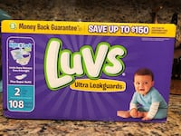 Luvs Diapers Size 2 Long Beach, 90810
