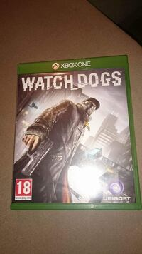 Se Dogs Xbox One game case