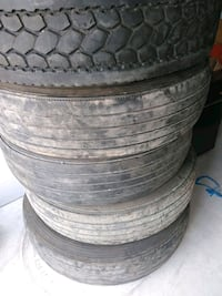 4 truck tire use Good for trailer 100 c/u Hockley, 77447
