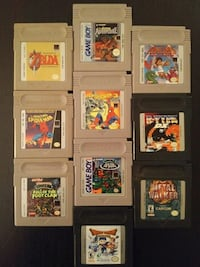 Gameboy games for sale individually  Vaughan, L4L