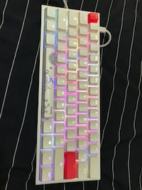 Ducky One 2 Mini RGB WHITE- Cherry MX Red Switches Newmarket