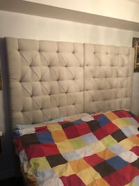 King size tufted headboard (or two twin size)  Toronto, M2R 3N1
