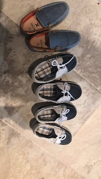 three pairs of black leather shoes Vaughan, L4J 0G5