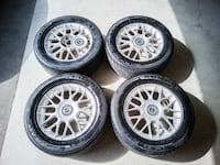 245/50 R16 All Season Tires on Rims, wide tires, Accord Camry Markham