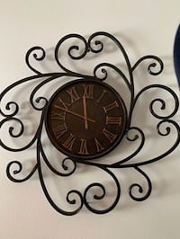 Gorgeous Clock 30X30 purchased at Hobby Lobby