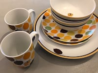 Rachael Ray 8 pieces dinnerware set  San Antonio, 78227