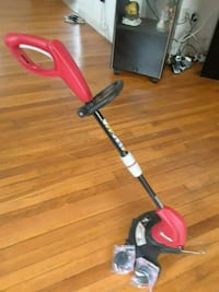 red and black electric gas string trimmer Falls Church, 22042