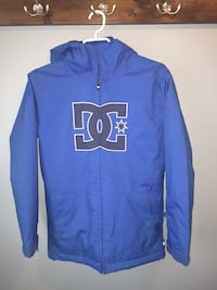 blue and white zip-up jacket Laval, H7R 5X1