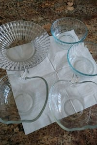 Glass bowl dishes