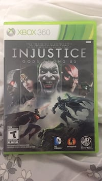 Xbox 360 Injustice Gods Among Us case Vaughan, L6A 3K5