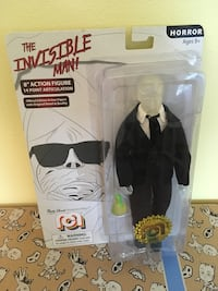 """The Invisible Man 8"""" Mego Figure"""