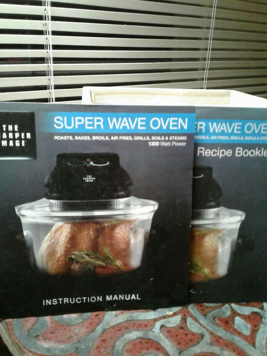 letgo super wave oven in kaneohe  hi Super Wave Oven Cooking Chart Super Wave Oven Recipe Book