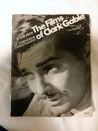 The Films Of Clark Gable Book Webster, 33597