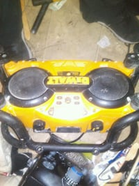 yellow and black Dewalt jobsite radio Vancouver, V5L 1H3
