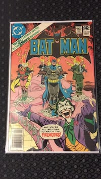 Batman #321 VF/NM Indio, 92201