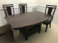 Dining Table with 6 Chairs 15 km