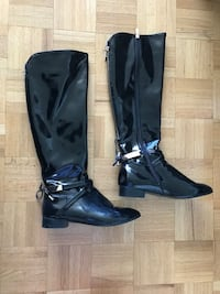 PATENT LEATHER BOOTS Toronto, M3A