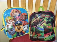 Mini backpack  $4 each  52 km