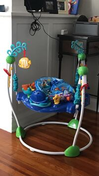 Baby's blue and green jumperoo Fort Lauderdale, 33315