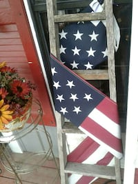 brown wooden ladder and U.S.A. flag Kearneysville, 25430
