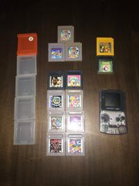 Gameboy Color with Tons of Games & Cases! Toronto, M9A 0B4