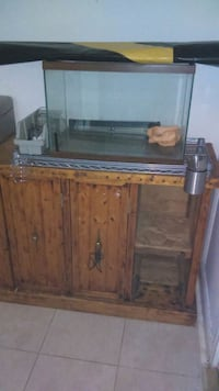 brown wooden framed fish tank Woodbridge, 22191