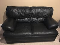 black leather set Ashburn
