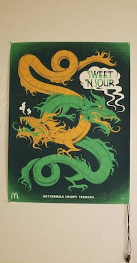 SWEET AND SOUR MCDONALDS POSTER Port Reading, 07064